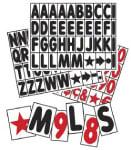sidewalk sign letter kits