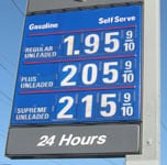 gas station price number kits
