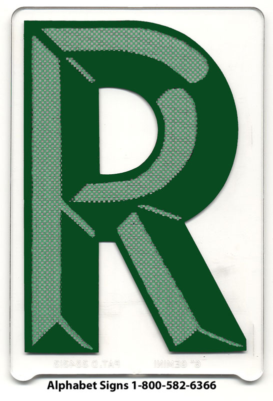 Individual Pronto Marquee Letters 4 Inch On 4 7 8 Panel