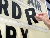pronto marquee letters
