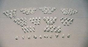 1 1 2 inch helvetica number kit for letter boards cdl4134 for Davson quartet letter board