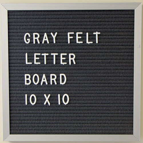 Open Face Letter Boards - All Sizes & Colors - Save