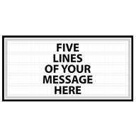 Marquee Signs - Free Custom Designs - Compare