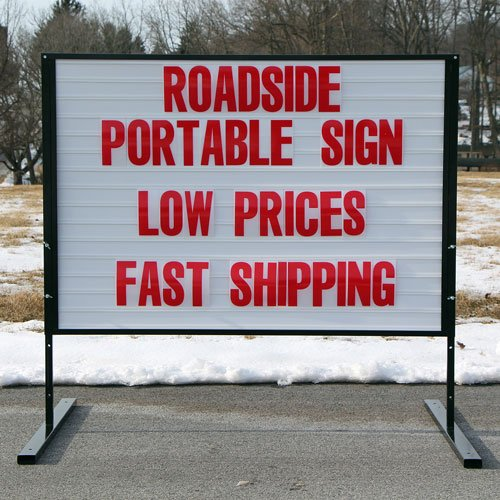 Portable Roadside Sign Low Prices Fast Shipping Rs22