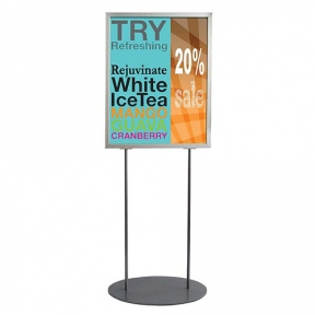 Sign Holder Stand 22 X 28 Poster Frame 63 Inch Floor Stand 16