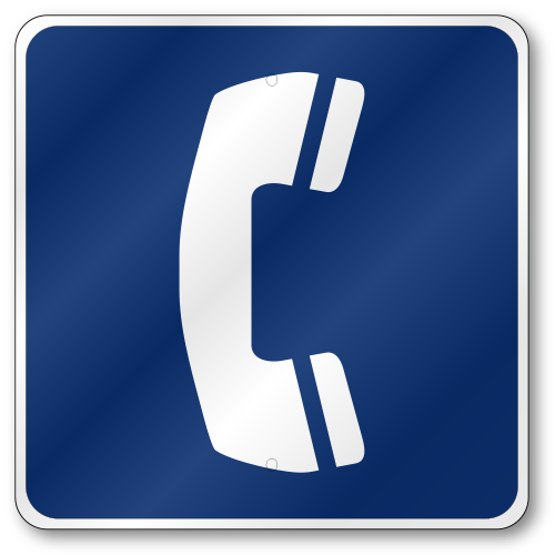 Telephone Sign D9-1