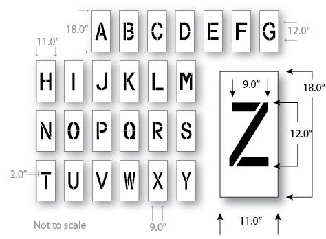 Letter stencil bindrdnwaterefficiency letter stencil spiritdancerdesigns Choice Image