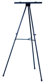 heavy duty display easel with flip chart - Display Easel