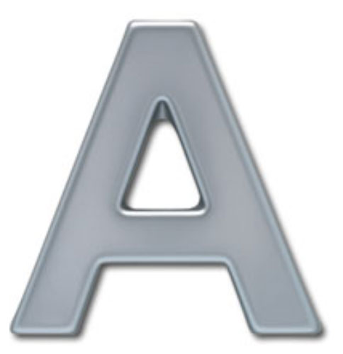 36 inch arial bold plastic building sign letters formed by for Plastic building sign letters