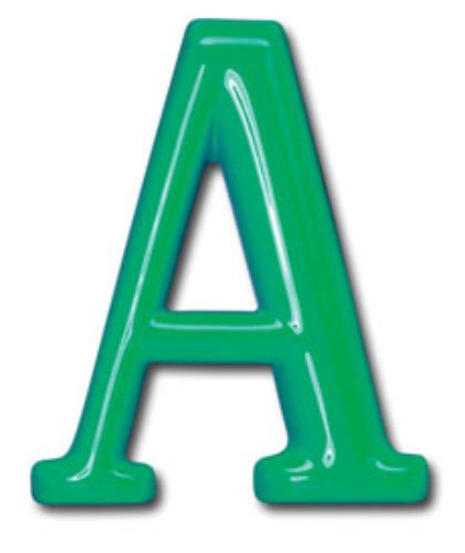 24 inch gemco plastic building sign letters formed by for Plastic building sign letters