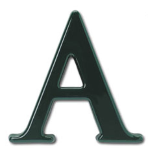 6 inch trajan bold plastic building sign letters bl17506 for Plastic building sign letters