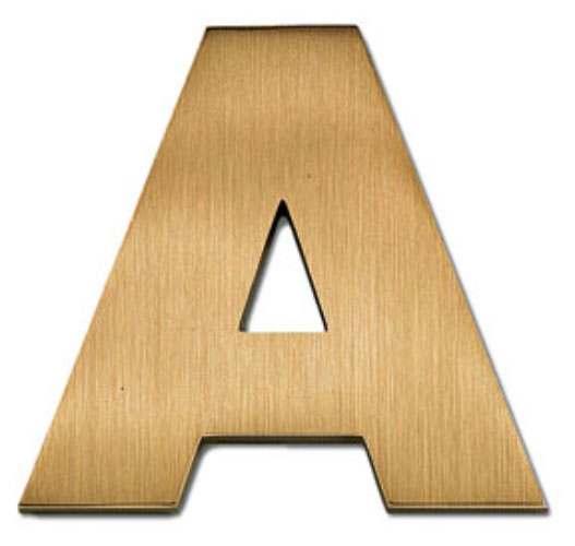 Helvetica bold ajpg for 18 inch metal letters