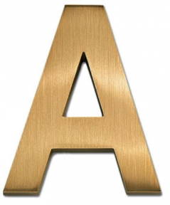 18 Inch Standard Block Cast Metal Sign Letters