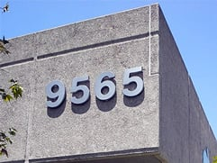 Building Address Numbers