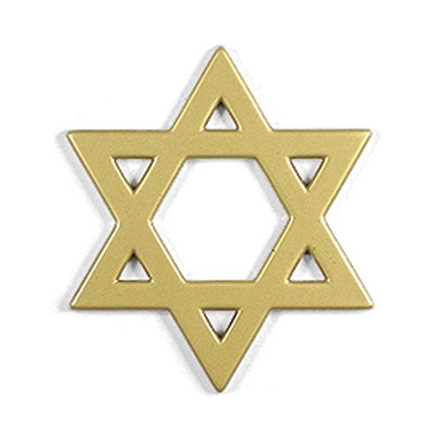 Star Of David Plastic Sign Symbol