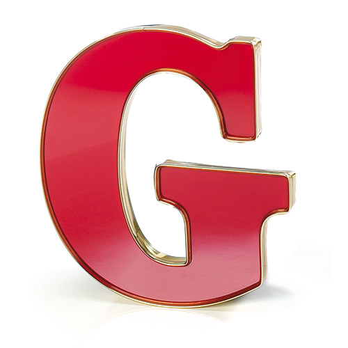 Gemtrim letters 10 inch cut out letters trimmed edges for Small plastic letters for signs