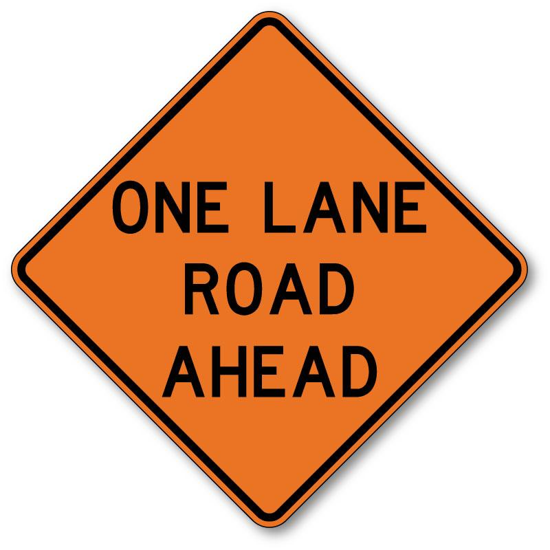 One-Lane Traffic During Trail Construction in Bella Vista