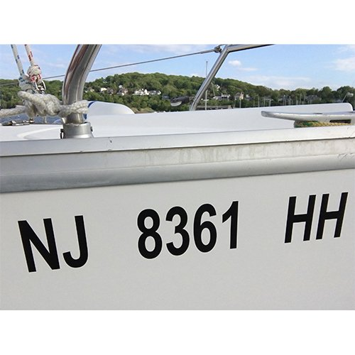 SSR Boat Graphic Names /& numbers Vinyl Signs Decals 3 sets 30mm high