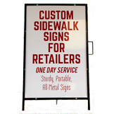 Sidewalk Signs In Stock All Sizes Styles Colors Save