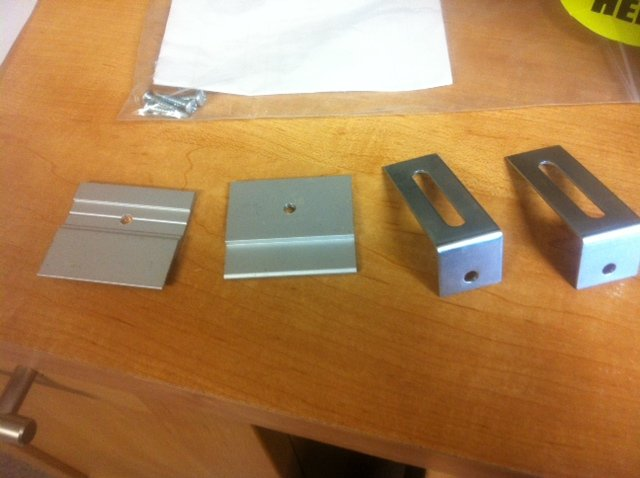 What Does The Mounting Hardware Look Like For Bulletin Or